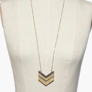 Madewell Arrow Stack Adjustable Necklace